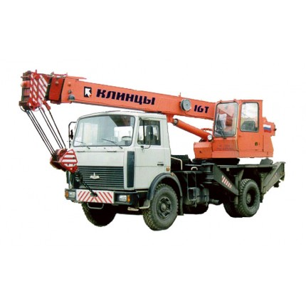 Услуги автокрана «Клинцы», г/п 16 тн (длина стрелы 18 метров)