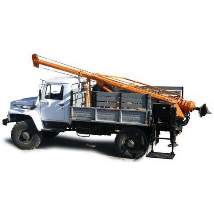 Услуги ямобура на базе ГАЗ-66 вездеход