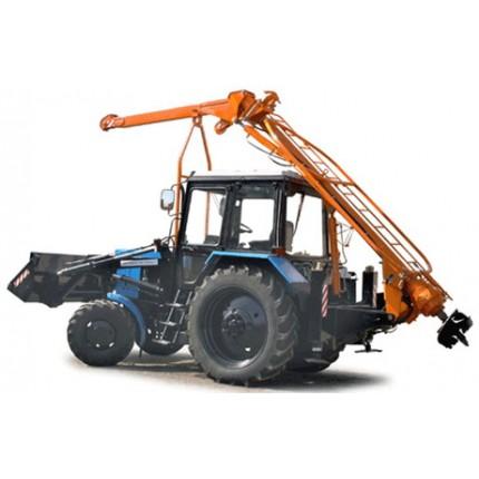 Услуги ямобура на базе трактора МТЗ